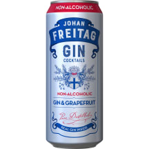 Nealkoholinis kokteilis JOHAN F GIN&GRAP,0,5l