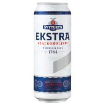 Nealkoholinis ŠVYTURIO alus EKSTRA, 0,5 l