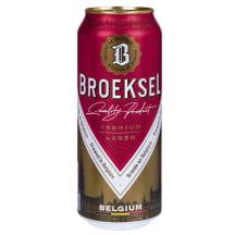 Alus BROEKSEL BELGIUM LAGER, 5 %, 0,5 l