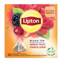 Juodoji arbata su miško uog. LIPTON, 34g