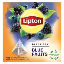 Tee must Lipton siniste marjade 20x1,8g