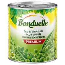 Konservēti zaļie zirnīši Bonduelle 800g/530g