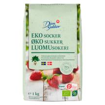 Suhkur valge DanSukker ökoloogiline 1kg
