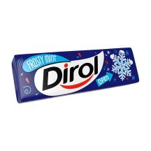 Košļājamā gumija Dirol Frosty Mint 13,6g