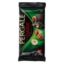 Tume šokolaad tervete pähklitega Pergale 100g