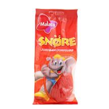 Kummikommid maasika Malaco Snore 94g