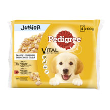 Suņu konservi Pedigree junior 100gx4