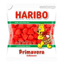 Želė saldainiai HARIBO ERDBEEREN, 100g