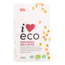 Kollased herned I Love Eco 500g