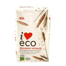 Ekologiški kvietiniai miltai I LOVE ECO, 2kg