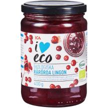 Ekologiškas bruknių džemas I LOVE ECO, 400g