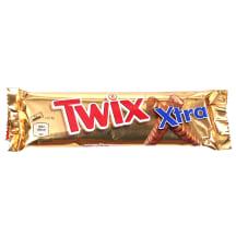 Šokolādes batoniņš Twix Extra 75g
