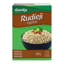 Rudieji ryžiai SKANĖJA, 500g