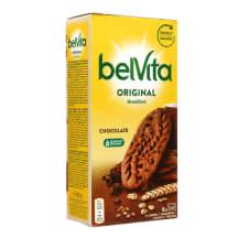 Täisteraküpsised šokolaadi Belvita 300g