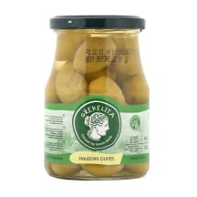 Zaļās olīvas Grekelita Haldiki 370g/200g