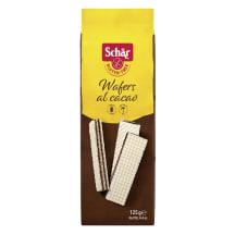 Vafeles Schar vaniļas ar kakao bezglut. 125g