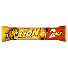 Batonėlis NESTLÉ LION PEANUT, 2 vnt., 60g