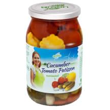 Assor. patisson-tomat-kurk marin. Green 900ml