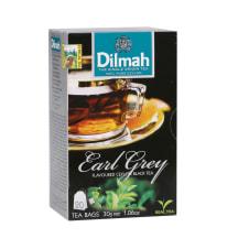 Juod. arbata bergam., DILMAH EARL GREY,20 pak