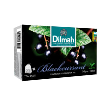 Tee must mustsőstra Dilmah 20x1,5g