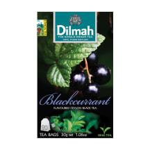 Melnā tēja Dilmah upeņu 20x1,5g