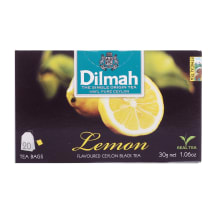 Melnā tēja Dilmah citronu 20x1,5g