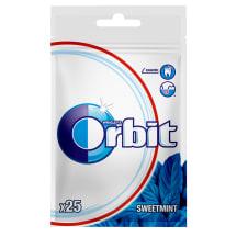 Becukrė mėtų sk. kramtomoji guma ORBIT, 35g