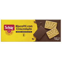 Cepumi Schar Biscotti ar šokolādi 150g