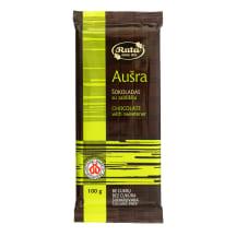 Šokoladas su saldikliais AUŠRA, 100 g