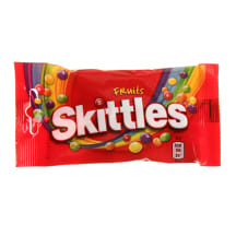 Vaisių skonio kramt. saldainiai SKITTLES, 38g