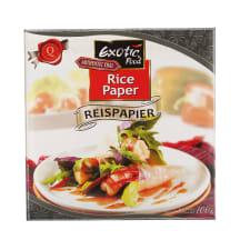 Riisipaber 22cm Exotic Food 100g