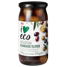 Oliivide segu I Love Eco 370g/215g