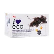Melnā tēja I Love Eco smilts., meža ogu 20x2g