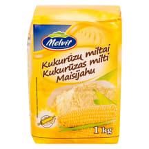 Kukurūzų miltai MELVIT, 1 kg