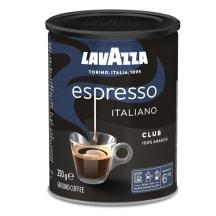 Kohv jahvatatud Lavazza Club purgis 250g