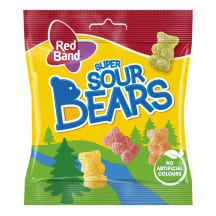 Guminukai RED BAND Sours Bears, 100g
