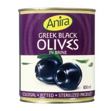 Graik. juodosios alyvuogės ANIRA, 850ml