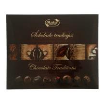 Šokoladinių saldainių rinkinys RŪTA, 220g