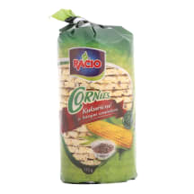 Kukurūzas plācenīši Racio ar līnsēklām 115g