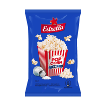 Estrella sāļais popkorns 90g