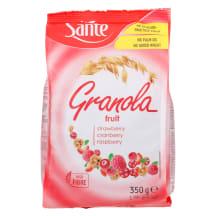 Granola müsli punaste marjadega Sante 350g