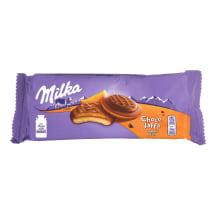 Sausainiai apels.įd., MILKA JAFFA ORANGE,147g