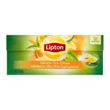 Tee roheline tsitruse Lipton 25x1,3g