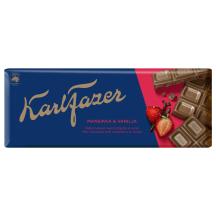 Piena šokolāde Karl Fazer zemeņu 190g