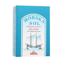 Jūras sāls Droga smalkais ar jodu 500g