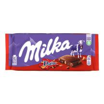 Piena šokolāde Milka ar Daim 100g
