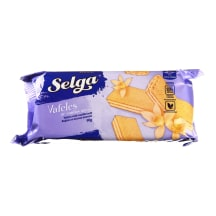 Vanilės skonio vafliai SELGA, 90g
