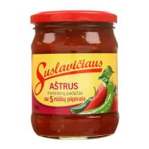 Aštrus SUSLAVIČIAUS pomidorų padažas, 500g