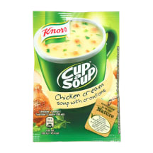 Vištienos sriuba su skrebučiais KNORR, 16 g