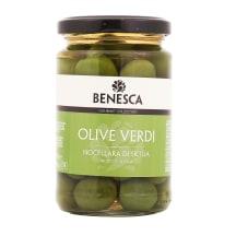Zaļās olīvas Benesca Sicīlijas ar kaul. 295g
